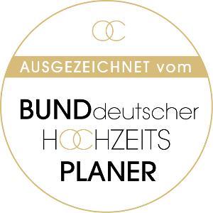 Vom Bund deutscher Hochzeitsplaner empfohlene Dienstleister